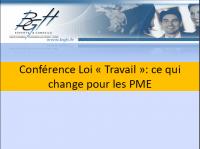 Conférence Loi Travail PME